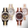 Geneva Platinum Sunshine Women's Watch Made with Swarovski Elements