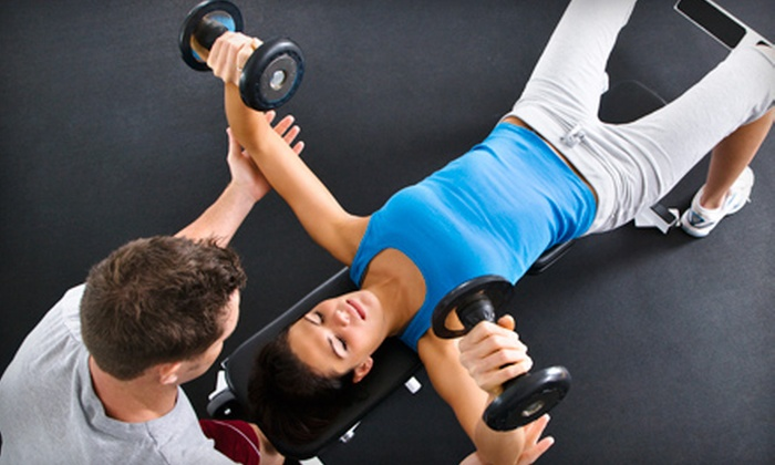 Fitness Together - Multiple Locations: 5 or 10 Small-Group Personal-Training Sessions or 3 or 8 Personal-Training Sessions at Fitness Together (Up to 92% Off)