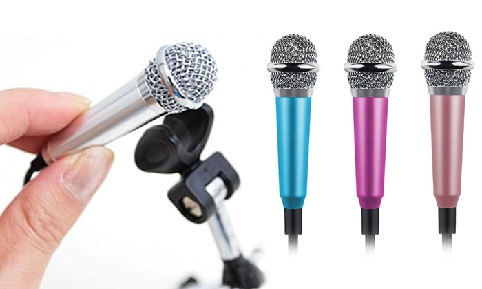 Mini Plug-In Microphone for Smartphones