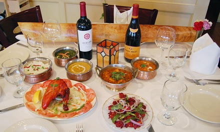 Indian Cuisine at Bangalore Restaurant & Bar (50% Off). Two Options Available.