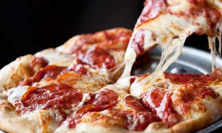 $13 for $25 Worth of Pizzeria Food for Deilvery or Weekday Lunch at Stuft Pizza