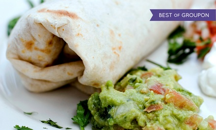 Burrito or Combo Meal for Two, or 18-Inch Burrito at Rosa Maria's (Up to 50% Off)