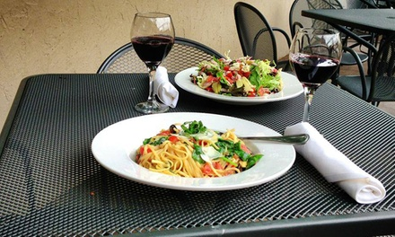 Three-Course Dinner for Two or Four with Wine at Serafina's Italian Bar and Grille (Up to 44% Off)