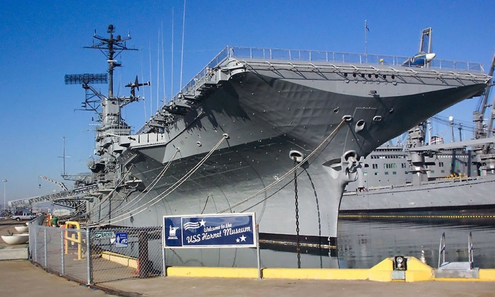 USS Hornet Museum - Alameda: Visit for Two or Four to the USS Hornet Museum (Up to 55% Off)