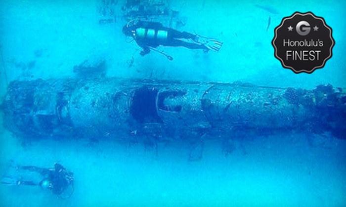Waikiki Diving Center - Waikiki: Beginner or Advanced Scuba-Diving Excursion from Waikiki Diving Center (Up to 60% Off)