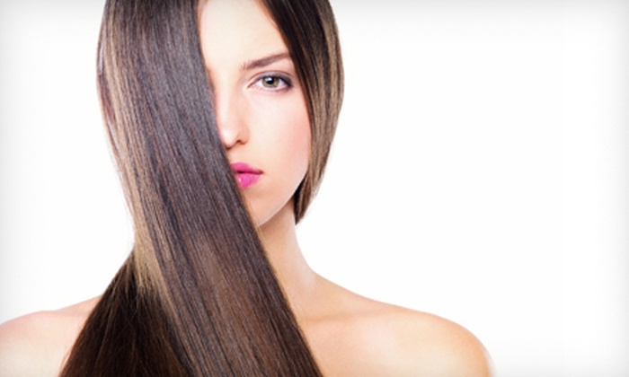 Gabanti Salon & Spa - Whippany: Haircut with Thermal Deep-Conditioning Mask or Brazilian Blowout at Gabanti Salon & Spa in Whippany (Up to 66% Off)