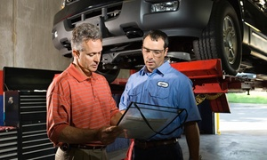 Capitol Auto Service: $49 for Wheel Alignment and State Safety Inspection at Capitol Auto Service ($99 Value)