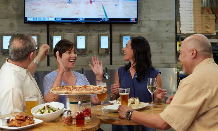 Z Pizza Tap Room - Central Raleigh: Dine-In or Takeout at Z Pizza Tap Room (Up to 40% Off). Three Options Available.