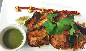The Third Eye Restaurant & Sports Bar: Indian Food and Drinks for Two or Four or More at The Third Eye Restaurant & Sports Bar (Up to 38% Off)