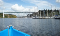 3h de balade en bateau à moteur sans permis pour 5 ou 8 personnes dès 32 € avec Au Gré du Vent