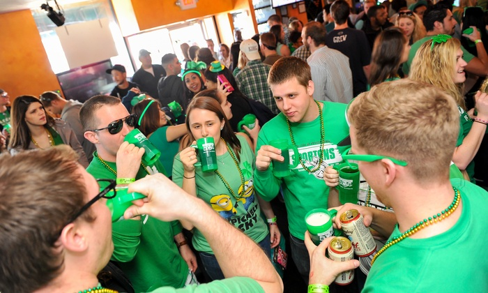 The Shamrock Crawl 2015 - Washington DC - Multiple Locations: Shamrock Crawl - Washington DC with Souvenir Mug and Party Favors for One or Two from Project DC Events (Up to 50% Off)