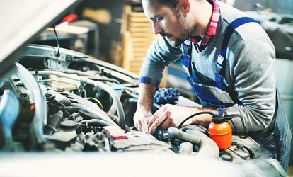 image for $20.99 for a Synthetic-Blend <strong>Oil Change</strong> at Star Automotive ($31.99 Value)