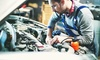 A-1 Autos - Meadowcreek: Synthetic Blend or Full Synthetic Oil Change, or Four-Wheel Alignment at A-1 Autos (Up to 44% Off)
