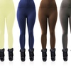 6-Pack of Ladies' High-Waist Zipper Fleece Leggings