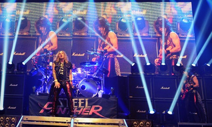 Steel Panther - House of Blues Sunset Strip: $10 to See Steel Panther at House of Blues Los Angeles on April 8 at 9:30 p.m. (Up to $19 Value)