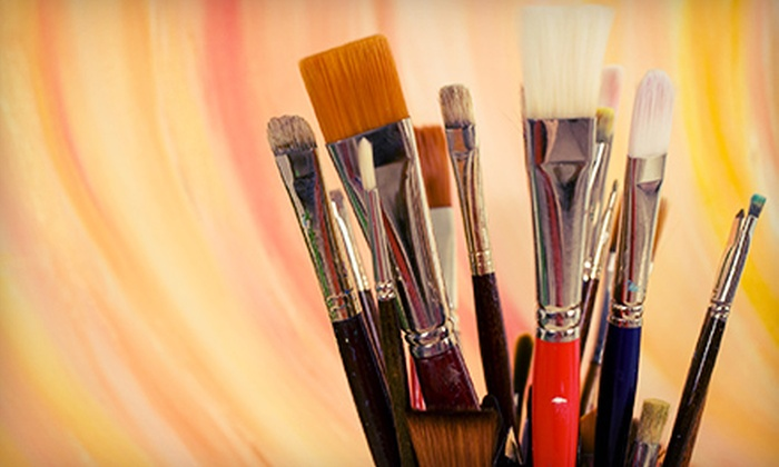 The Paint Cellar - Multiple Locations: BYOB Painting Class for One, Two, or Four at The Paint Cellar (Up to 58% Off)