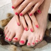 51% Off a Mani-Pedi at Le Beaute Salon and Spa
