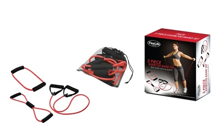3-Piece Exercise Band Set