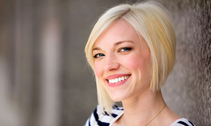 Shear Concepts Salon - Oakhurst: Haircut and Style with Optional Restorative Treatments or Color at Shear Concepts Salon (Up to 58% Off)