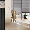 Faux-Silk Jacquard Shower Curtain