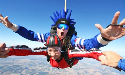 $105 for One Tandem Skydive from Skydiving Land ($210 Value)