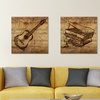 "16""x16"" Sheet Music on Canvas"