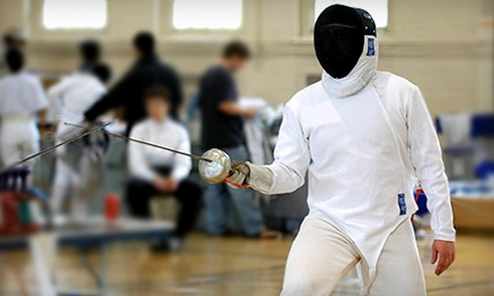 DC Fencers Club - Silver Spring: Group Class or Private Lesson at DC Fencers Club (51% Off)