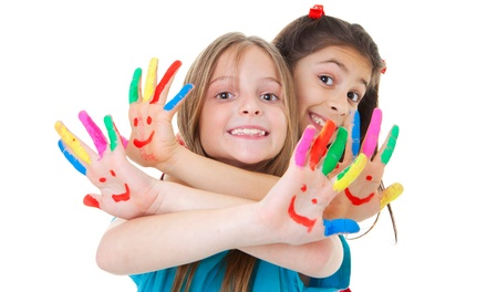 $275 for a Five-Day Summer Art Camp for Girls at Christina's Art Adventure Camp ($555 Value)