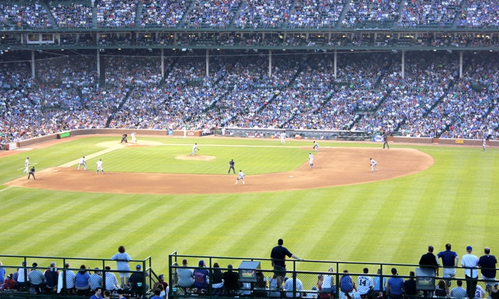 Wrigleyville Rooftops - Multiple Locations: Rooftop Tickets with Food & Drinks for a Cubs Home Game at Wrigleyville Rooftops (Up to 51% Off). 15 Games Available.