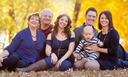$49 for a Photo Shoot with Image CD, Holiday Postcards, and 25% Discount on Prints from The Studio MPLS ($475 Value)