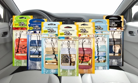 12 Assorted Yankee Candle Car Air Fresheners