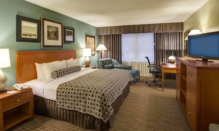 Stay at Radisson Hotel Washington DC-Rockville in Maryland. Dates into December.