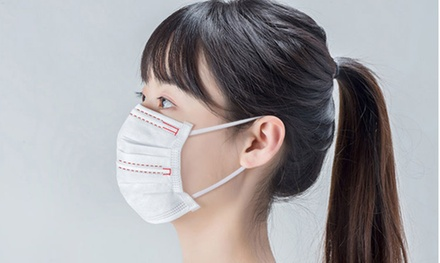 $19.95 for 50-Pack of Dr. Johnson Disposable Face Masks