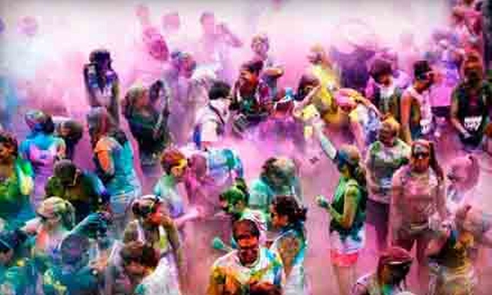 Color Me Rad - Des Moines: $19.99 for Entry to the Color Me Rad 5K Run at Des Moines Water Works Park on Saturday, October 5 (Up to $40 Value)
