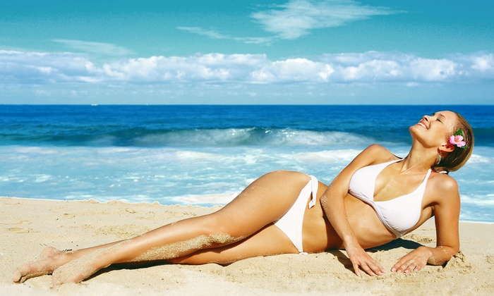 Eyecandy Bikinis - Tucson: One or Three Custom Airbrush Spray Tans or $10 for $20 Worth of Swimwear and Accessories at Eyecandy Bikinis