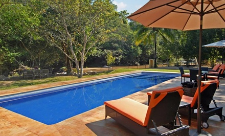 Groupon Deal: 3-, 4-, or 5-Night Stay for Two with Three Daily Meals at Villa Azalea in Puerto Vallarta