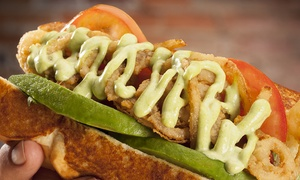Dog Haus: Sausages, Hot Dogs, and Burgers at Dog Haus (Up to 40% Off)