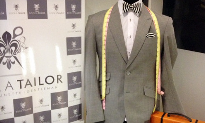 BookATailor - BookATailor: Two or Four Custom Shirts or Bespoke Suit with Option for Two Custom Shirts at BookATailor (Up to 64% Off)