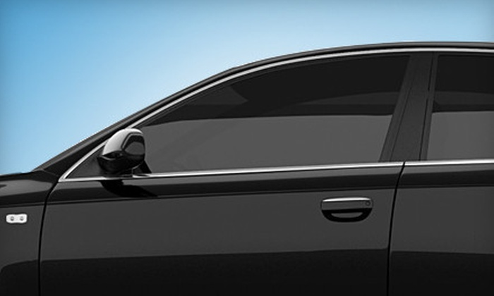 H&H Audio - Strang Line Business Park: $109 for Auto Tinting for One Rear Window and Four Side Windows at H&H Audio  ($249 Value)