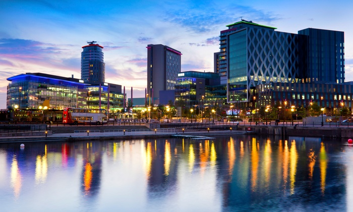 Britannia Hotel Manchester - City Centre: Manchester: 1 or 2 Nights For Two With Breakfast, Pizza and Beer from £49 at Britannia Hotel Manchester