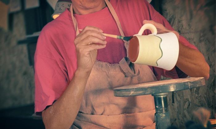Ceramics Plus - West Allis: Ceramic-Painting Class for Two