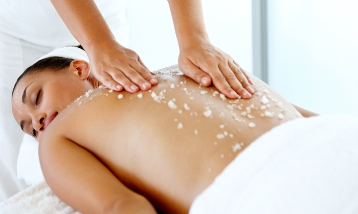mojo day spa - Chatard - Forest Hills: One, Two, or Three 60-Minute Body-Glow Scrubs with Massages at mojo day spa (Up to 53% Off)