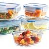 Luminarc PureBox Glass Food-Storage Set (10-Piece)