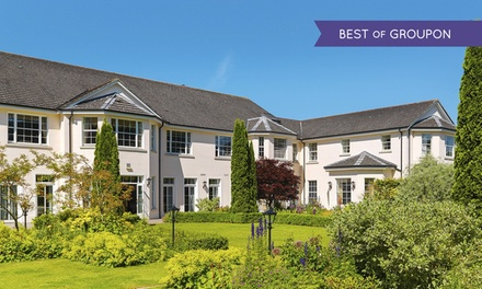 Co. Monaghan: 1 or 2 Nights for Two with Breakfast, Wine and Round of Golf or Spa Credit at 4* The Nuremore Hotel