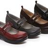 Jambu Scarlet-Too Leather Mary Jane Shoes