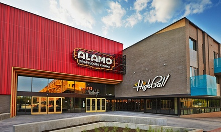 $5 for One Movie Ticket at Alamo Drafthouse Cinema (Up to $10.50 Value)