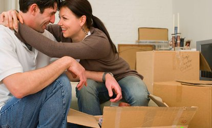 image for Two, Four, or Six Hours of Moving Services with Two Movers and Truck from A+ Quality Movers, Inc. (54% Off)