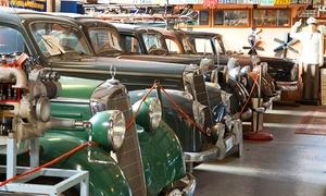 Fahrzeugmuseum Marxzell: Eintritt für 2 Erwachsene, optional mit 2 oder 4 Kindern, ins Fahrzeugmuseum Marxzell ab 5 €