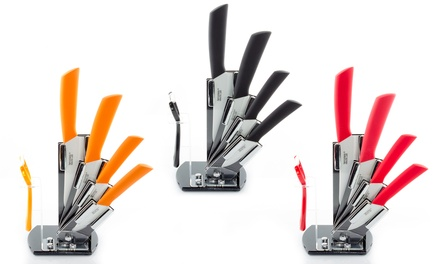 Six-Piece Ceramic Knives Set
