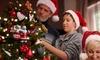 Santa Wearing Mask Christmas Ornament